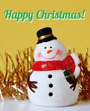 クリスマスのあいさつ