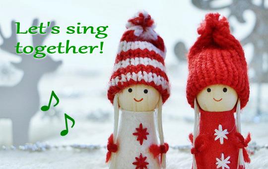 歌う子どもたち