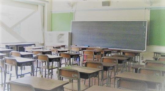 日のあたる教室